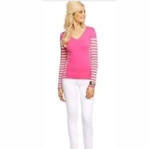 Lilly Pulitzer Adelaide Sweater Capri Pink Sz S